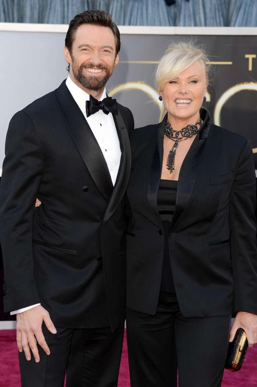 Хью джекман с женой и детьми фото 2018