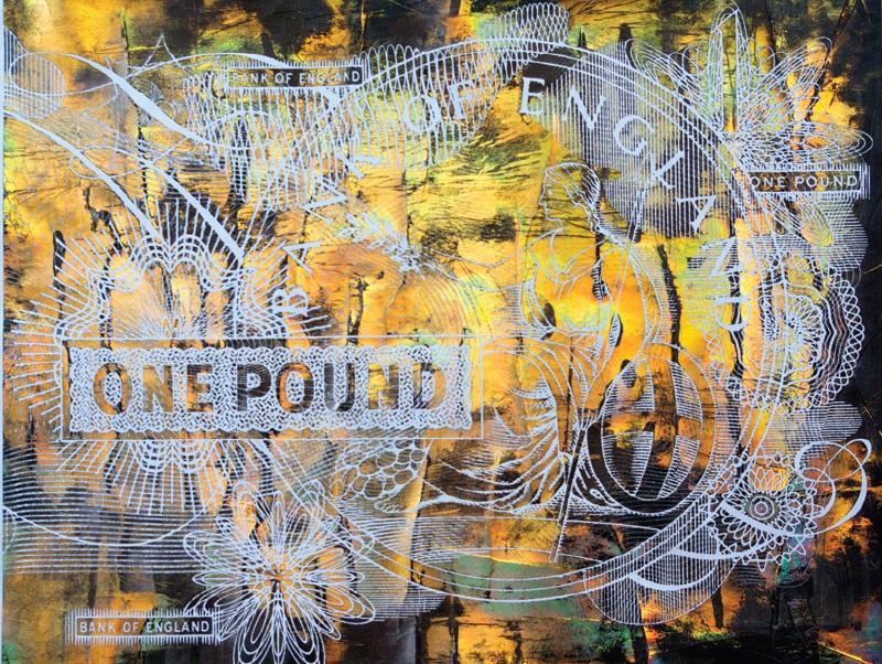 """Картина от изложбата """"Отсъствие"""" на Хубен Черкелов в галерията на фондация """"13 века България"""""""