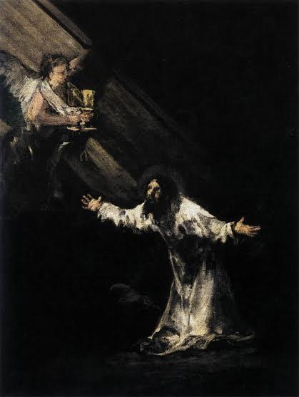 """Франсиско Гоя, """"Христос в Гетсиманската градина"""""""