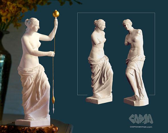Венера Милоска като предачка – звучи правдоподобно... - Как би изглеждала с ръце Венера Милоска?