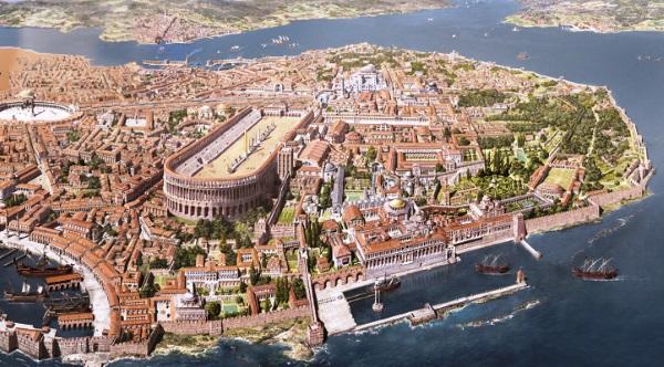 Възстановка на Константинопол