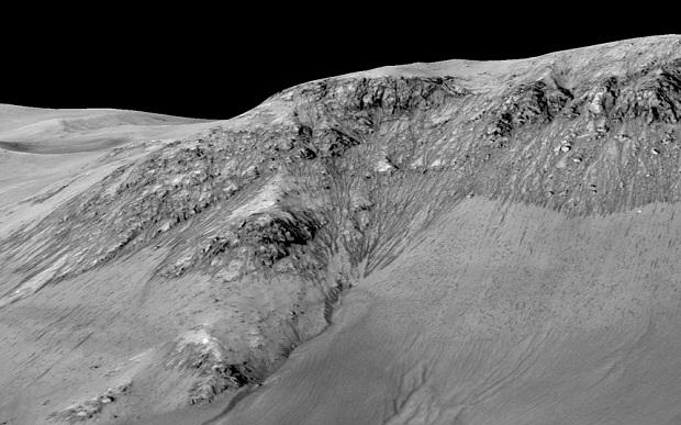 Повърхността на Марс.