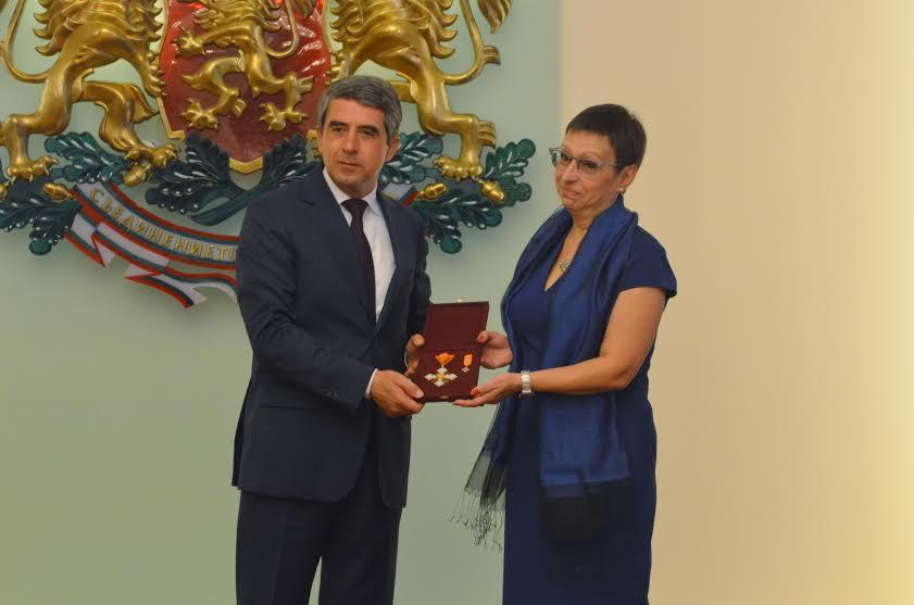Президентът с Иглика Трифонова