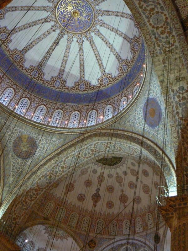 Под куполите на Синята джамия