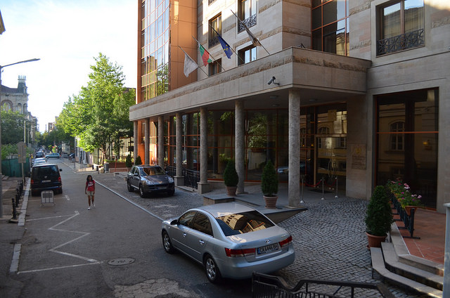 """Столичният хотел """"Арена ди Сердика"""" е изграден върху част от сердикийския амфитеатър."""