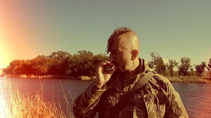 Васил Слипак на фронтовата линия