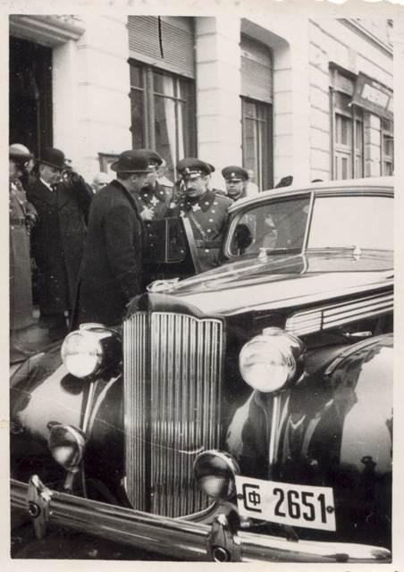 Цар Борис III и царица Йоана на посещение в Дома през 1940 г.