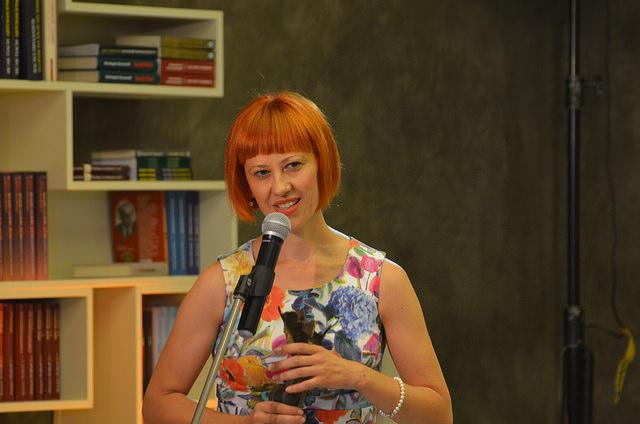 Ксения Банович с отличието за превод