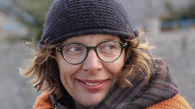 Снимка: Яна Пункина - Ина Вълчанова с Европейската награда за литература