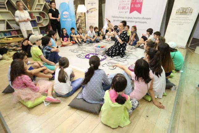 Деца се учиха да илюстрират любими приказки, да пишат сценарий и поезия в първото издание на Националната седмица на детската книга в НДК.  - Малкият голям писател и зародишът на първата му книга