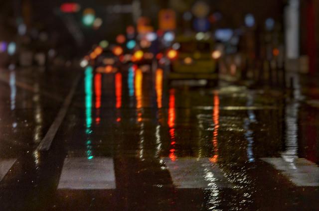 Снимки: Емил Л. Георгиев - Нощни зебри и дъждовна цветомузика (снимки)
