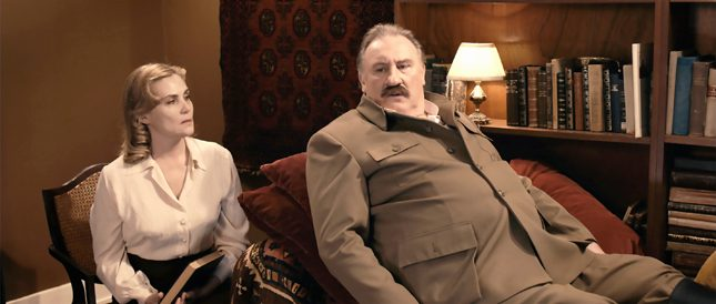 """Жерар Депардийо като съветския диктатор в """"Диванът на Сталин"""". - Новите филми: Сталин, кралица Виктория и линията на смъртта"""