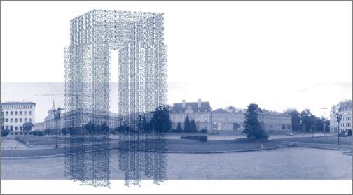 """Проектът """"Бронзова къща"""" на художника Пламен Деянофф е предложение на правителството на Австрия към България, за да отбележат двете страни председателството си на ЕС през 2018 г. - Бронзова къща на мястото на мавзолея?"""