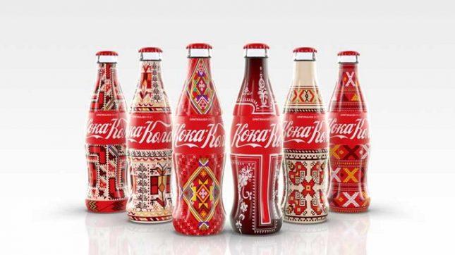 """""""Кока-кола"""" пуска на българския пазар лимитирана серия от иконичните си бутилки, украсени с български шевици. - Политически популизъм или реклама? Разликата е в бутилката"""