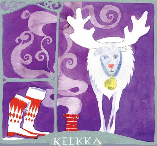 """Илюстрациите в """"Как малкият Клаус стана Дядо Коледа"""" са на Дамян Дамянов. - Ще умре ли Дядо Коледа, мамка му?"""