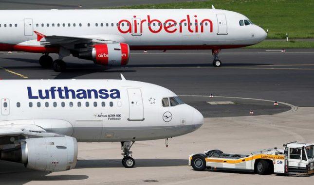 Между януари и септември тази година са били анулирани 222 полета, като най-много - 140 - е трябвало да излетят от летище Франкфурт. Снимка: ЕПА/БГНЕС - Германски пилоти отказват полети с бежанци