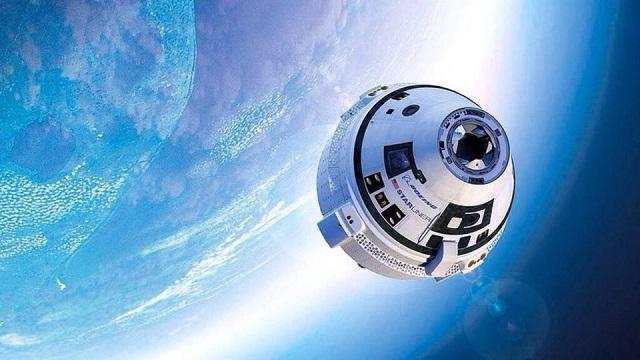 """Космичекият апарат Starliner на компанията """"Боинг"""" ще може да транспортира астронвани до Международната космическа станция. Илюстрация: """"Боинг"""" - Пробивите в науката и техниката, които очакваме през 2018-а"""