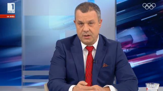 """""""Съжалявам наистина за това, което стана, няма да се повтори повече"""", обеща Емил Кошлуков. Снимка: Стопкадър от """"Още от деня"""" - Кошлуков иска извинение, чакал да му дойде акълът"""