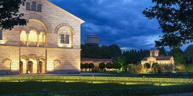 Част от проекта за Исторически парк край Варна. Снимки: Исторически парк АД - Исторически парк или бутафория до керемида?