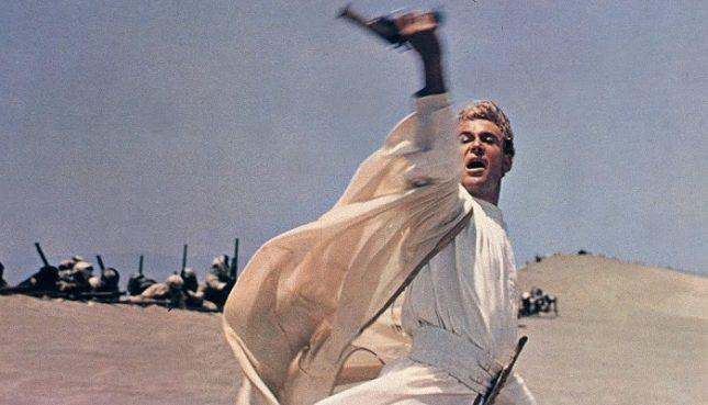 """Питър О'Тул като романтичен, самомнителен полковник от Първата световна война в """"Лорънс Арабски"""" - Капра? Копола? Бигълоу? Кой е най-добрият режисьор на всички времена?"""
