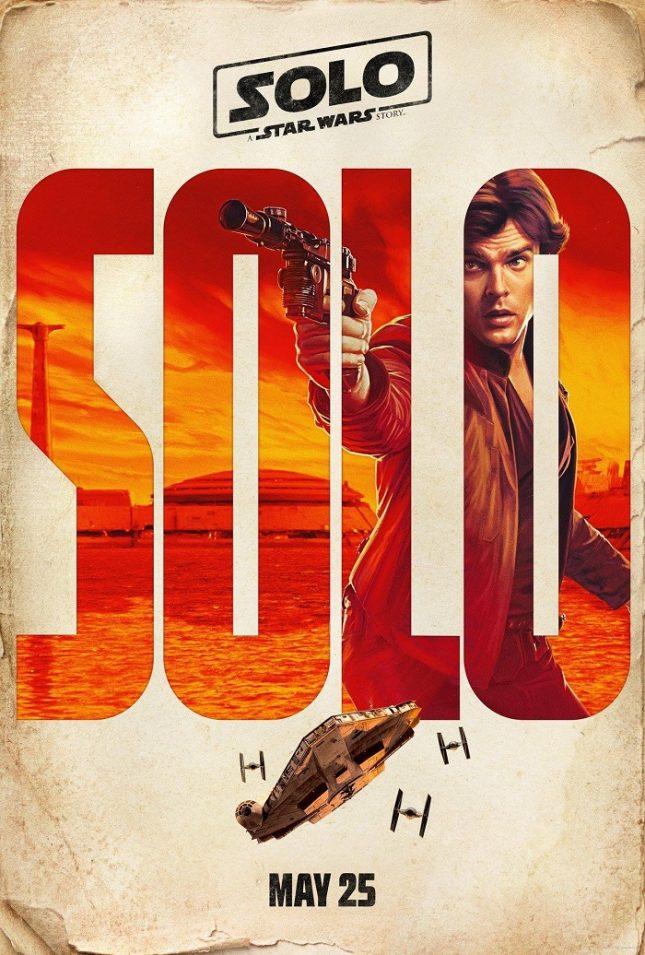 """Олдън Еренрайх на един от първите плакати на """"Соло"""" - Младият Хан Соло излита на 25 май по кината (видео)"""