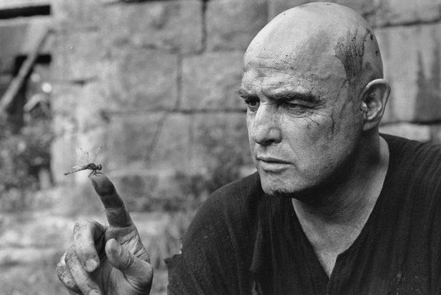 "Мери Елън Марк - Марлон Брандо, ""Апокалипси сега"", Филипините, 1976 - Миг преди апокалипсиса на Брандо"
