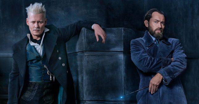 """Гринделвалд (Джони Деп) и Дъмбълдор (Джъд Лоу) са били приятели, докато не ги разделя злополучен инцидент със сестрата на Албус. - Мрак, мистерия и още чудни твари във """"Фантастични животни 2"""" (видео)"""