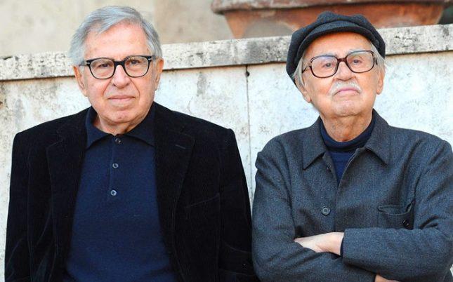 Виторио Тавиани (вдясно) бе част от прочут тандем заедно с брат си Паоло. - Почина Виторио Тавиани