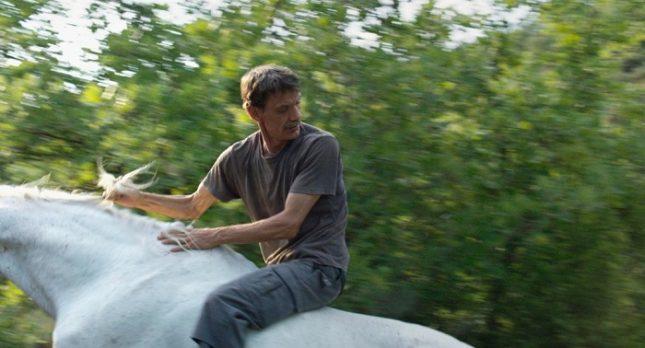 """В """"Уестърн"""" режисьорката Валеска Гризебах ви води нежно за ръка по криволичещата пътечка на драмата в дъбравата на загадките.  - Най-добрият филм на годината"""