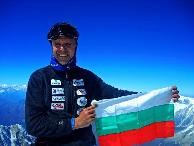 Алпинистът Боян Петров е в неизвестност от 3 май, тръгнал към връх Шиша Пангма в Хималаите. Снимка: Личен архив - Върхът у мен