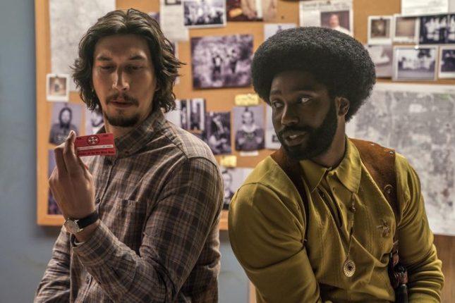 """Адам Драйвър и Джон Дейвид Уошингтън (вдясно) в новия филм на Спайк Лий """"Черният ку-клукс-клановец"""" - Кан 2018: Ще отплава ли """"Златната палма"""" отвъд океана?"""