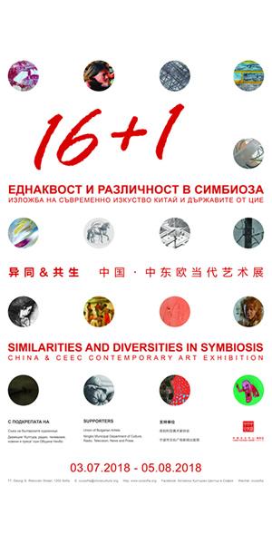 Еднаквост и различност в симбиоза Изложба на съвременно изкуство Китай и държавите от ЦИЕ