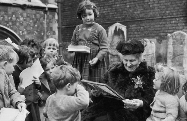 """Днес, 66 години след смъртта на Мария Монтесори, в 110 страни по света има 22 000 училища, работещи по нейната образователна система. Снимка: Асоциация """"Монтесори"""" - Необикновената жена Мария Монтесори"""