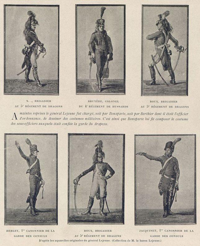 Униформи на френската армия от времето на военната кампания в Египет (края на XVIII, началото на XIX в.), част от експозицията в Националната библиотека - Народната библиотека отваря османския си архив с документи от похода на Наполеон в Египет