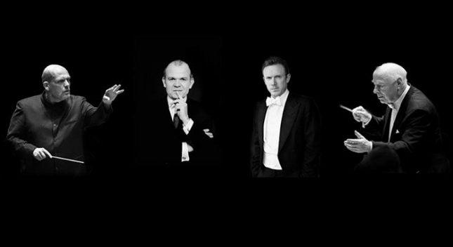 """Бернард Хайтинк, Яп ван Цведен, Франсоа Ксавие Рот и Даниел Хардинг ще поемат планираните с Даниеле Гати концерти на елитния нидерландски оркестър. Снимка: Кралски Концертгебау оркестър - Четирима прочути диригенти заменят Даниеле Гати в """"Концертгебау"""""""